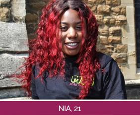 Nia, 21