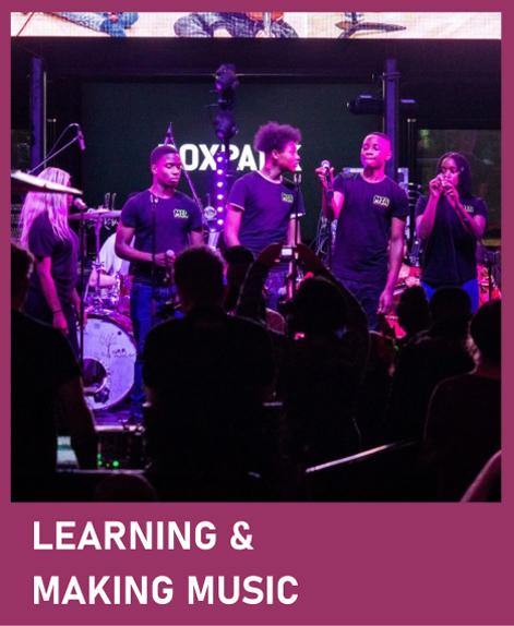 learning n making music