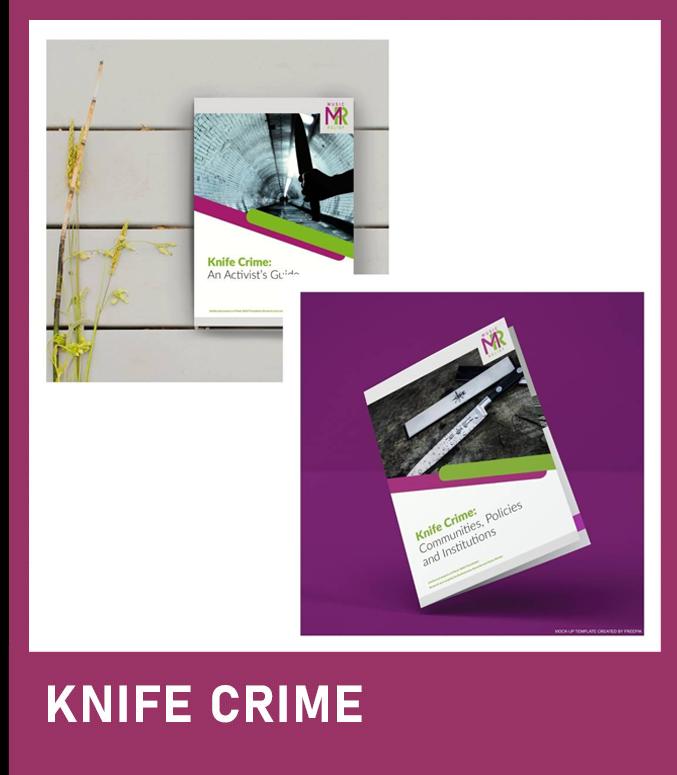 Knife crime booklets